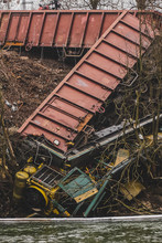 Overview Of A Train Wreck, Whi...