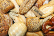 a word breads on wood background - image