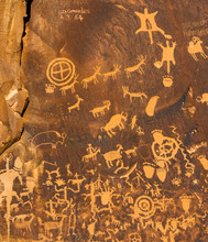 Newspaper Rock Petroglyphs, Canyonlands, Utah