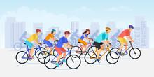 City Bicycle Sport Marathon. V...