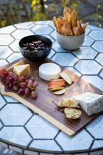 Cheese Board With Appetizers O...
