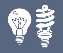 Incandescent Light Bulb And Co...