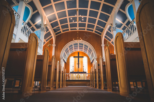 Foto church in iceland