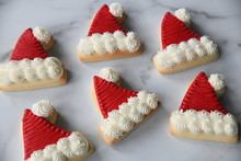 Santa Hat Cookie