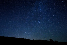 Starry Sky Over The Dunes Night