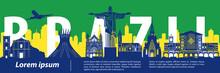 Brazil Famous Landmark Style,b...