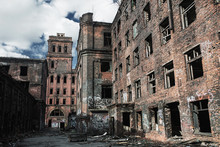 Old Abandoned Building After N...