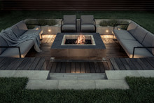 Outdoor Zone For Relax With Bu...