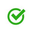 check mark icon vector design symbol