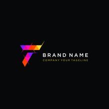 Letter T Logo Design Template...