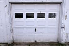 Old Creepy Garage Door