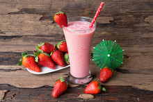 Strawberry And Banana Smoothie...