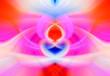 Leinwandbild Motiv Colorful Abstract Background. Graphic modern art. Fractal artwork. Creative wavy multi color background for banner design. Digital fantasy effect. Trendy desktop wallpaper. Futuristic Fractal Pattern