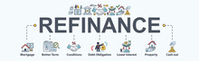 Refinance Banner Web Icon For ...