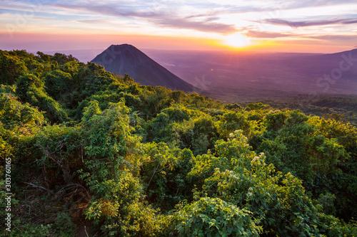 Volcano in El Salvador