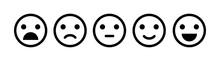 Emoji Icon Set Of Satisfaction...