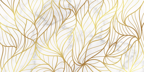 voucher, style, leaves, golden, vip, metallic, geometric, marble, modern, lux...