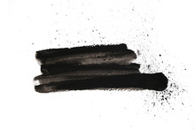 Abstract Black Ink Texture Jap...