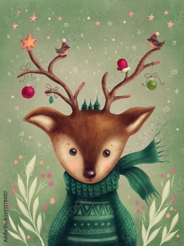 cute-deer-portrait
