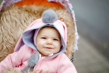 Cute Little Beautiful Baby Gir...