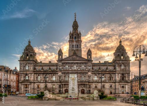 Glasgow City Chambers, the city of Glasgow in Scotland, United Kingdom