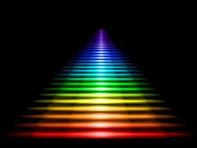 Multi-colored Luminous Stairca...