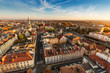 canvas print picture - Opole city in Opolskie Voivodeship with old hertiage buildings and wonderful views