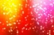 Leinwandbild Motiv Stars background bokeh christmas decoration, eve glow.