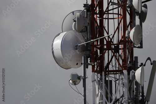 Foto repetidor antena