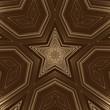 Leinwandbild Motiv Gold star background and light abstract design, backdrop.