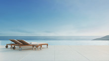 Beach Lounge - Ocean Villa Wit...