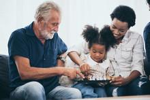 Happy People Family Concept La...