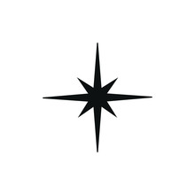 Vector Compass Symbol Icon For...