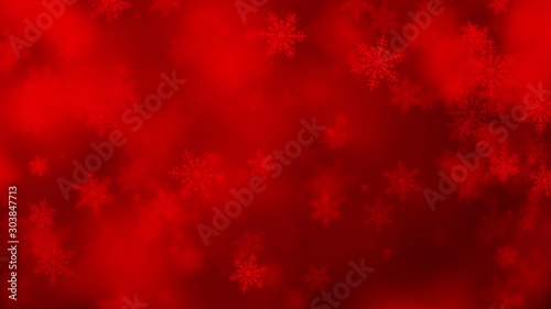 Fototapeta  abstract colorful christmas bokeh background