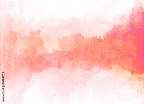 Cuadros en Lienzo  Abstract watercolor texture background