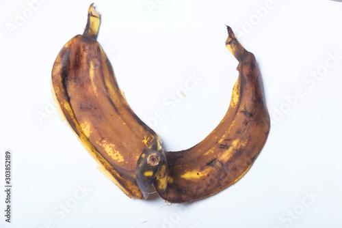 Darkened banana peel Canvas-taulu