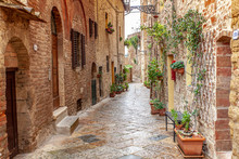 Volterra Medieval Town Picture...