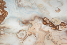 Abstract Acrylic Painting Liquid Pouring Marble