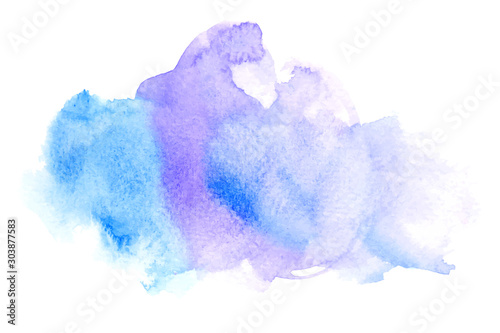 Obraz abstract watercolor background - fototapety do salonu