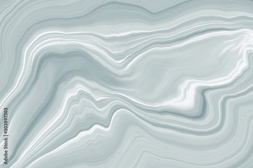 Fototapety, obrazy: Marble ink colorful. white and gray marble pattern texture abstract background. can be used for background or wallpaper