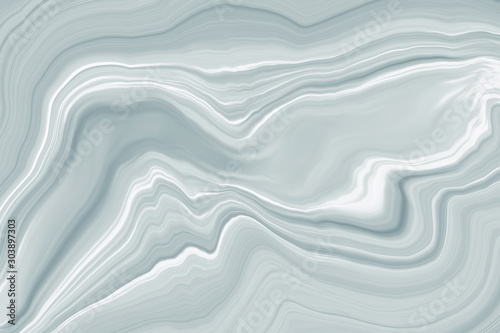 In de dag Abstract wave Marble ink colorful. white and gray marble pattern texture abstract background. can be used for background or wallpaper