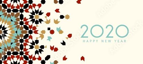 Obraz New year Card - fototapety do salonu