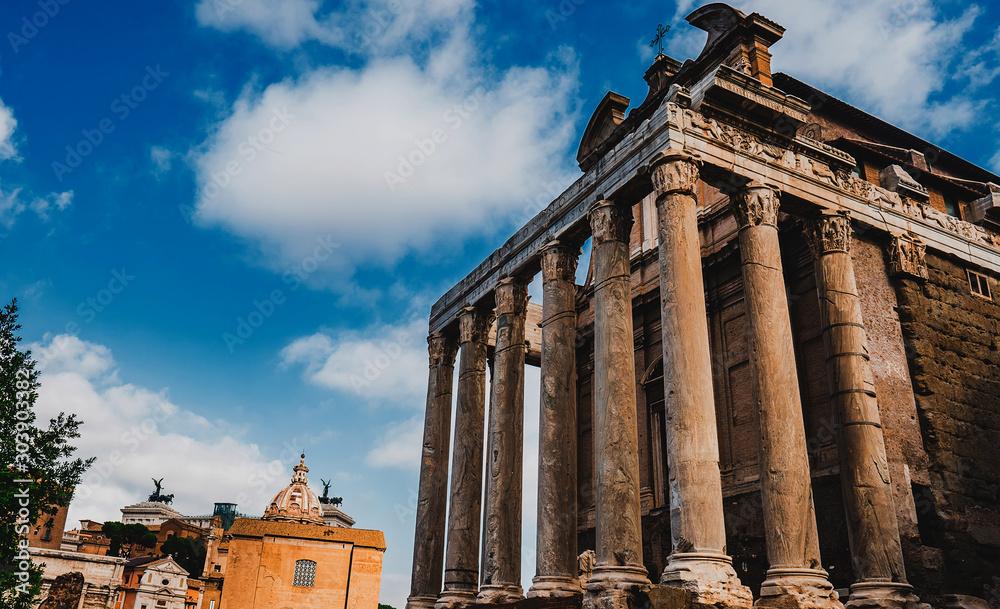 Fototapety, obrazy: architecture building columns
