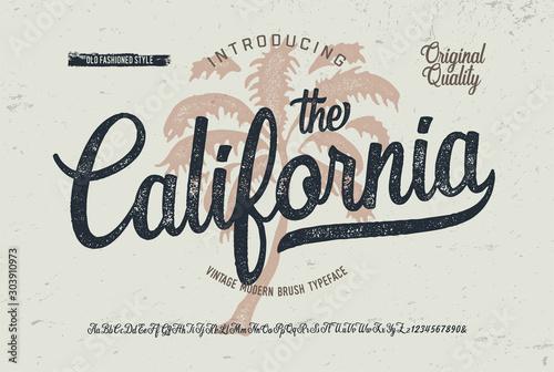 "Stampa su Tela ""California"""