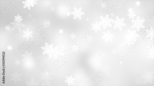 Fotografie, Obraz  abstract colorful christmas bokeh background