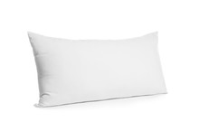 Blank Soft New Pillow Isolated...