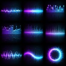 Sound Wave, Music Audio Equali...