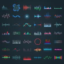 Sound Waves, Music Equalizer F...