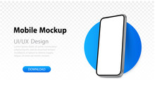 Mockup Smartphone Blank Screen...