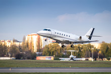 Business Jet Takeoff
